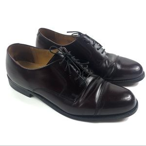COLE HAAN CITY | Oxford Lace Up Brown Dress Shoes